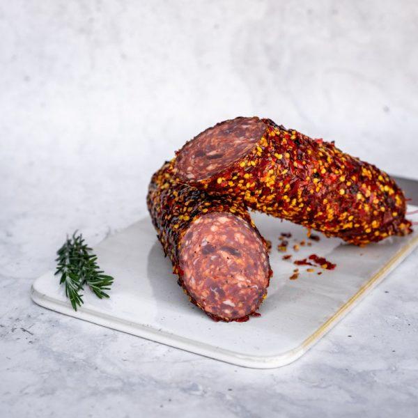 DSC07970 Chilli Coated Salami